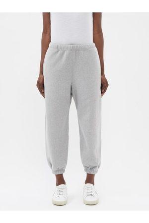 Raey Recycled-yarn Cotton-blend Track Pants - Womens - Marl