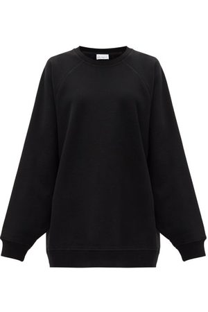 Raey Oversized Recycled-yarn Cotton-blend Sweatshirt - Womens