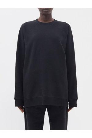 Raey Recycled-yarn Cotton-blend Sweatshirt - Womens