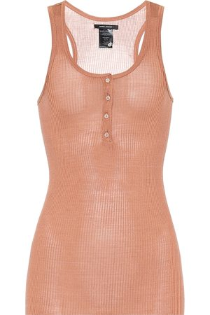 Isabel Marant Louisali ribbed-knit silk tank top