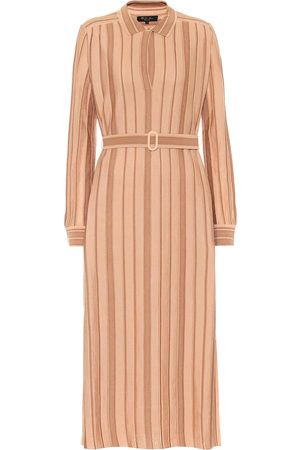Loro Piana Cashmere and silk midi dress