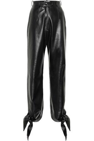 Matériel Tbilisi High-rise faux-leather pants