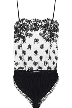 Stella McCartney Floral-lace bodysuit