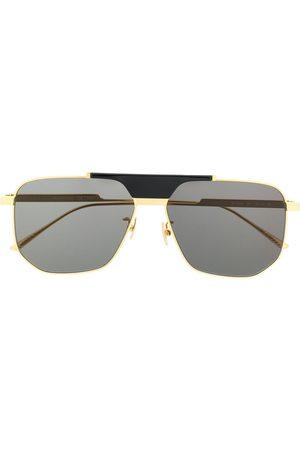 Bottega Veneta Geometric aviator sunglasses