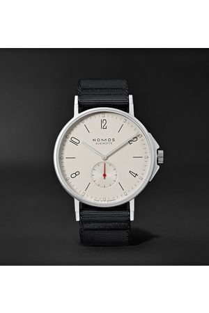 Nomos Glashütte Ahoi Automatic 40mm Stainless Steel and Nylon Watch, Ref. No. 550