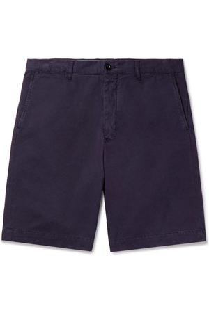 Mr P. Garment-Dyed Cotton-Twill Bermuda Shorts