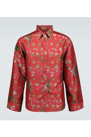 MARTINE ROSE Chaplin jacquard shirt