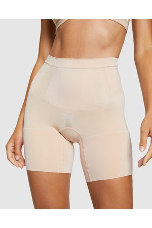 Spanx Women Shorts - OnCore Mid Thigh Shorts - Lingerie (Nude) OnCore Mid-Thigh Shorts