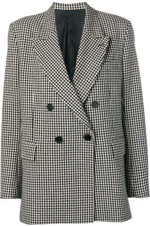 Ami Lined Oversized Double-Breasted Jacket