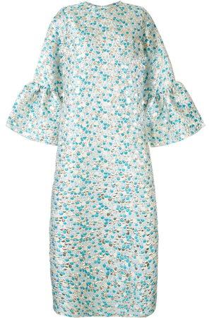 Bambah Zeynab scale print kaftan dress