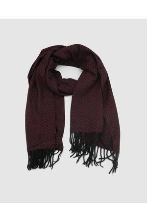 Morgan & Taylor Maliah Scarf - Scarves & Gloves (Burgundy) Maliah Scarf