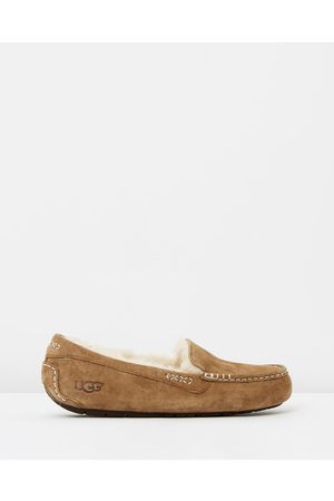 UGG Womens Ansley Slippers - Slippers & Accessories (Chestnut) Womens Ansley Slippers
