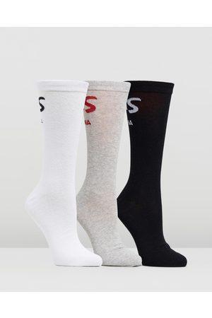 Deus Ex Machina 3 Pack Curvy Socks Men's - Underwear & Socks (Multi) 3-Pack Curvy Socks - Men's