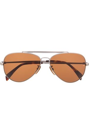 DAVID BECKHAM EYEWEAR Tinted aviator sunglasses