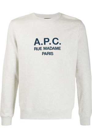 A.P.C. Embroidered logo sweatshirt