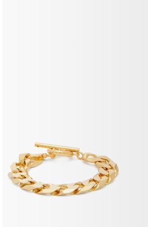 All Blues Moto Flat-chain -vermeil Bracelet - Womens