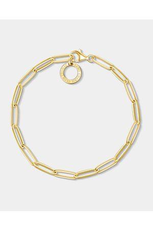 Thomas Sabo Gold Plated Long Link Bracelet - Jewellery Gold Plated Long Link Bracelet