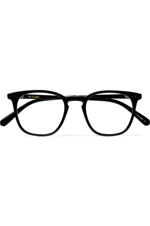 Mr. Leight Getty C Square-frame Acetate And Gold-tone Titanium Optical Glasses