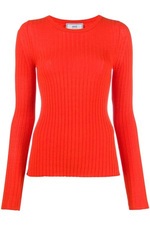 Ami Paris Crew neck knitted jumper