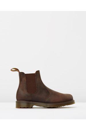 Dr. Martens Boots - Unisex 2976 Chelsea Boots - Boots (Gaucho Crazy Horse) Unisex 2976 Chelsea Boots