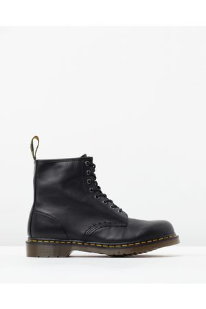 Dr. Martens Women Lace-up Boots - Unisex 1460 Nappa 8 Eye Boots - Boots ( Nappa) Unisex 1460 Nappa 8-Eye Boots
