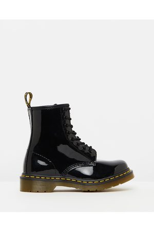Dr. Martens Womens 1460 Patent 8 Eye Boots - Boots ( Patent Lamper) Womens 1460 Patent 8-Eye Boots