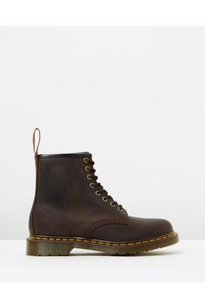Dr. Martens Unisex 1460 8 Eye Boots - Boots (Gaucho) Unisex 1460 8-Eye Boots