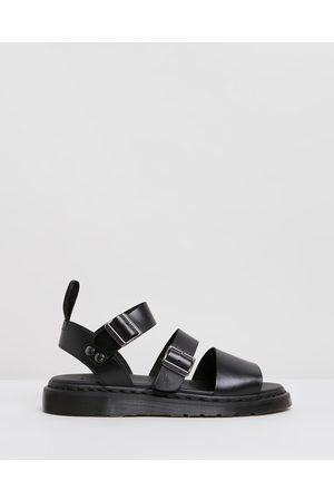 Dr. Martens Sandals - Unisex Gryphon Strap Sandals - Casual Shoes ( Brando) Unisex Gryphon Strap Sandals