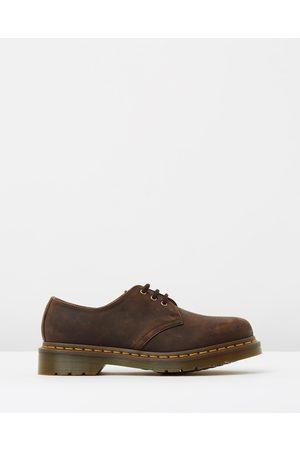 Dr. Martens Unisex 1461 3 Eye Shoes - Casual Shoes (Gaucho Crazy Horse) Unisex 1461 3-Eye Shoes