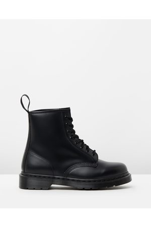Dr. Martens Unisex 1460 Mono 8 Eye Boots - Boots ( Smooth) Unisex 1460 Mono 8-Eye Boots