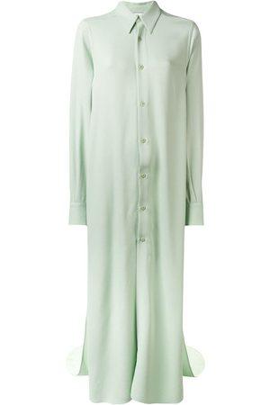 Ami Paris Long Dress Shirt With Long Sleeves