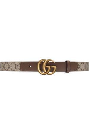 Gucci Women Belts - GG belt with Double G buckle