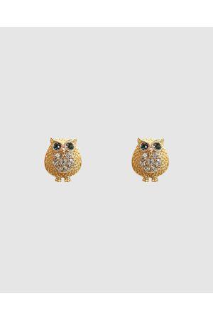 Short Story Fancy Earring Owl - Jewellery (Cream) Fancy Earring Owl