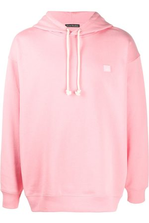 Acne Studios Hoodies - Face-patch oversized hoodie