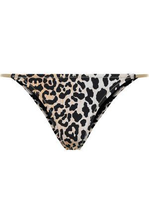Reina Olga Hawn leopard-print bikini bottoms