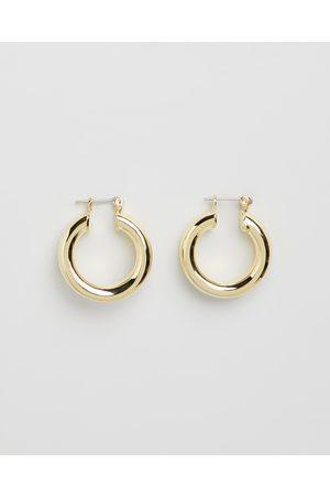Luv AJ The Baby Amalfi Tube Hoop Earrings - Jewellery The Baby Amalfi Tube Hoop Earrings