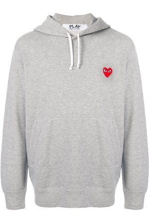Comme Des Garçons Play Embroidered logo hoodie
