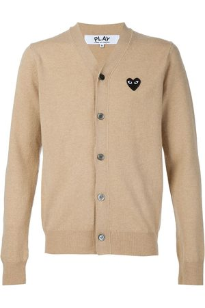 Comme Des Garçons Play Embroidered heart cardigan