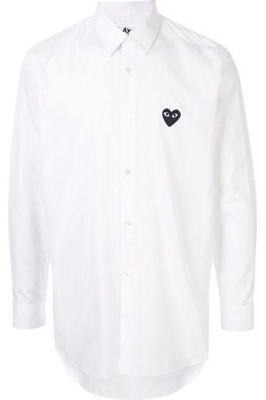 Comme des Garçons Embroidered logo shirt