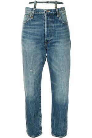 R13 Ollie straight leg jeans