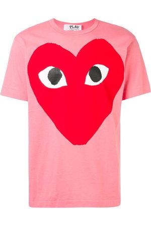 Comme des Garçons Oversized heart print T-shirt