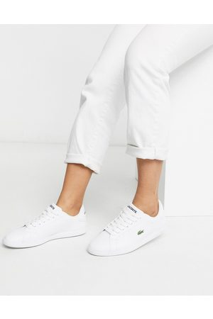 Lacoste Graduate BL 1 leather sneakers in white