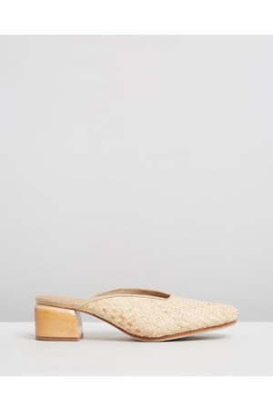 JAMES | SMITH Women Heels - Cafe Society - Mid-low heels (Woven) Cafe Society