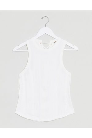 Free People check it out tank in white