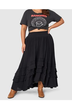 The Poetic Gypsy Frontier Maxi Skirt - Skirts Frontier Maxi Skirt