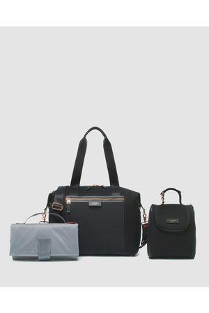 storksak Stevie Luxe Scuba Nappy Bag - Bags ( Scuba) Stevie Luxe Scuba Nappy Bag