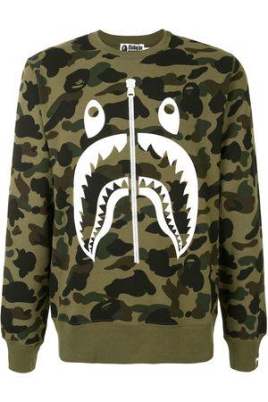 BAPE Camouflage print sweatshirt