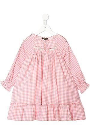 Velveteen Frankie gingham boho dress