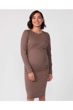 Pea in a Pod Maternity Jana Ponte Nursing Dress - Dresses Jana Ponte Nursing Dress