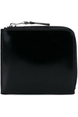 Comme des Garçons Gloss Silver Leather Wallet